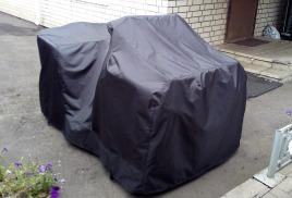 Скоро в продаже стояночный чехол для ATV Yamaha Grizzly 700.